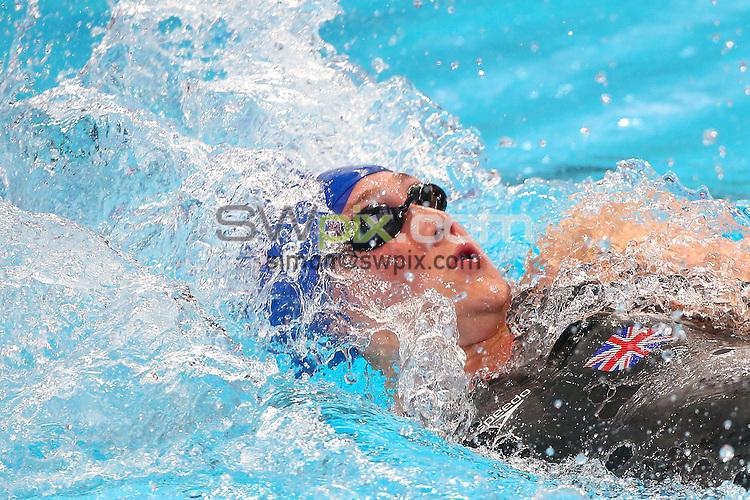 Picture by Alex Whitehead/SWpix.com - 07/08/2015 - Swimming - 16th FINA World Swimming Championships 2015 - Kazan Arena Stadium, Kazan, Russia - Great Britain's Elizabeth Simmonds.