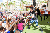 LAS VEGAS, NV - April 27 :  The Wanted perfrom at REHAB Pool Party at Hard Rock Hotel & Casino in Las Vegas, NV on April 27, 2014. © Kabik/ Starlitepics ***HOUSE COVERAGE*** /NortePhoto