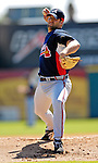 6 March 2007: Atlanta Braves pitcher Kyle Davies in Grapefruit League action against the Washington Nationals at Space Coast Stadium in Viera, Florida.<br /> <br /> Mandatory Photo Credit: Ed Wolfstein Photo