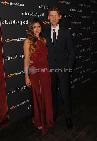 New York,NY-JULY 30: Elissa Shay, Scott Haze attends the 'Child Of God' premiere at Tribeca Grand Hotel in New York on July 30, 2014 . Credit: John Palmer/MediaPunch