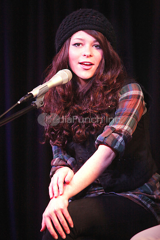 Cady Groves pictured at Q102 iHeart performance theater in Bala Cynwyd, Pa on March 19, 2012  © Star Shooter / MediaPunchInc
