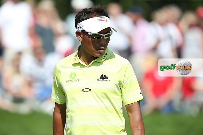 Take a bow Thongchai Jaidee (THA) during Round Two of the 2015 BMW International Open at Golfclub Munchen Eichenried, Eichenried, Munich, Germany. 26/06/2015. Picture David Lloyd | www.golffile.ie