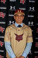 Jaedon Bader during the Under Armour All-America Tournament powered by Baseball Factory on January 17, 2020 at Sloan Park in Mesa, Arizona.  (Mike Janes/Four Seam Images)