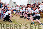 Ballybunion Bars Tug of War: The Feale Bar Tuggers  team that took part in the inter pub Tug of War event in aid of Charity on Saturday night on the Castle Green in Ballybunion.