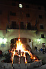Bonfire of Saint Antony's night at the main square in front of the town hall of Sóller<br /> <br /> Fuego de San Antonio Abad (cat.: Sant Antoni Abat) en la Plaza de la Constitución delante del Ayuntamiento de Sóller<br /> <br /> Sankt Antonius Feuer auf dem Hauptplatz von Soller vor dem Rathaus <br /> <br /> 3008 x 2000 px<br /> 150 dpi: 50,94 x 33,87 cm<br /> 300 dpi: 25,47 x 16,93 cm