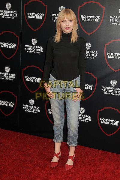 14 July 2015 - Burbank, California - Dara Sisterhen. Warner Bros. Studio Tour Stage 48: Script to Screen Launch Event held at Warner Bros. Studios. <br /> CAP/ADM/BP<br /> &copy;BP/ADM/Capital Pictures