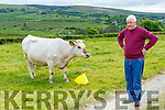 Patrick Howard Currow with his quad calves that Molly gave birth to last September