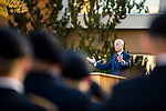 _E1_5703<br /> <br /> 1611-26 Veterans Day Presidential Review<br /> <br /> with Elder Lance B. Wickman<br /> <br /> November 11, 2016<br /> <br /> Photography by: Nathaniel Ray Edwards/BYU Photo<br /> <br /> © BYU PHOTO 2016<br /> All Rights Reserved<br /> photo@byu.edu  (801)422-7322<br /> <br /> 5703