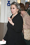 Zoe Caldwell attending the Broadway Opening Night performance of Brian Friel's FAITH HEALER at the Booth Theatre with an after party at Bryant Park Grill in New York City.<br />May 4, 2006