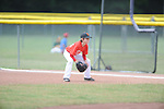 Jackson Newman plays first base at the Germantown Baseball League all star game at Cameron Brown Park in Germantown, Tenn. on Wednesday, June 3, 2015. The Red team won 4-2.