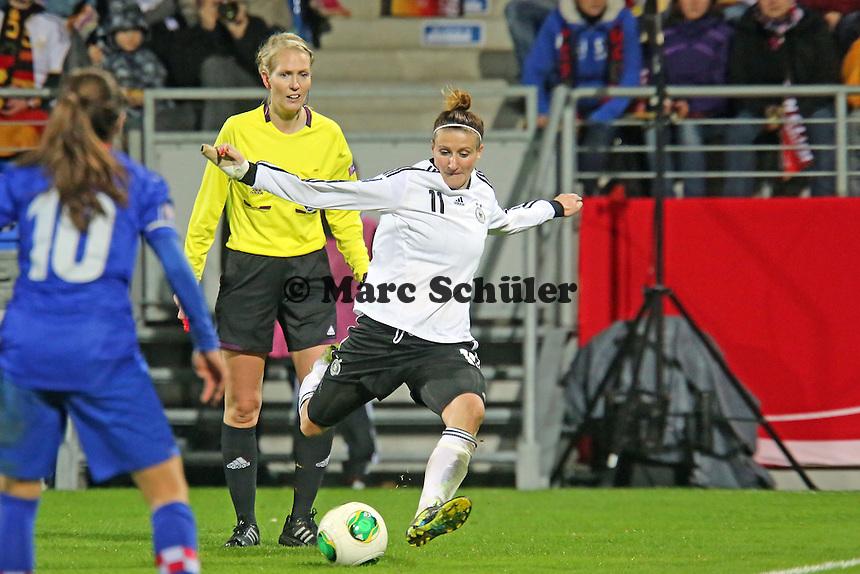 Anja Mittag (D)- Deutschland vs. Kroatien, WM-Qualifikation, Frankfurter Volksbank Stadion