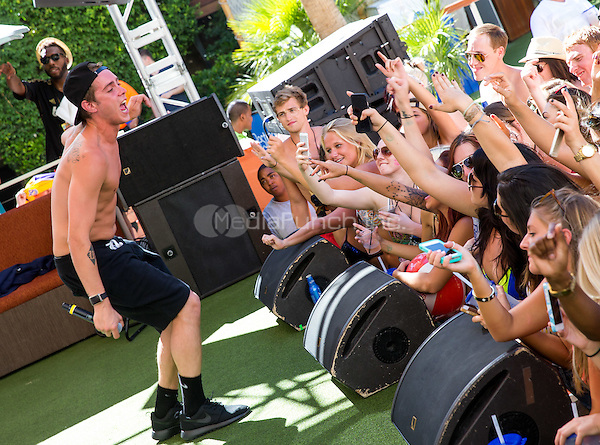LAS VEGAS, NV - July 26: ***HOUSE COVERAGE*** Sammy Adams at REHAB pool party at Hard Rock Hotel & Casino in Las Vegas, NV on July 26, 2015. Credit: Erik Kabik Photography/ MediaPunch