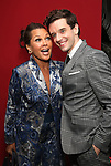 Vanessa Williams and Michael Urie attends the Off-Broadway Opening Night After Party for the Second Stage Production on 'Torch Song' on October 19, 2017 at Copacabana in New York City.