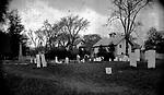 Frederick Stone negative. Grand Street Cemetery - 1891.