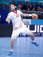 Croatia's Ivan Cupic during 23rd Men's Handball World Championship preliminary round match.January 14,2013. (ALTERPHOTOS/Acero) 7NortePhoto