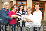 Pictured at the Fossa National School coffee morning in the Travel Inn, Fossa on Friday were Norma Doherty, Mary Myers, Karen McGlynn, Ron Kavanagh, Catherine McCarthy and Teresa Kissane.  ................................................