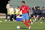 11 February 2006: Costa Rica's Randall Azofeifa. The Costa Rica Men's National Team defeated South Korea 1-0 at McAfee Coliseum in Oakland, California in an International Friendly soccer match.