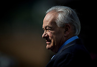 ARCADIA, CA - FEBRUARY 10: Trainer Jerry Hollendorfer at Santa Anita Park on February 10, 2018 in Arcadia, California. (Photo by Alex Evers/Eclipse Sportswire/Getty Images)