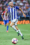 Deportivo Alaves's Gaizka Toquero during the match of La Liga Santander between Atletico de Madrid and Deportivo Alaves at Vicente Calderon Stadium. August 21, 2016. (ALTERPHOTOS/Rodrigo Jimenez)