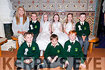 sMuinttear Eibhlin's clas from Gael Scoil Listowel who received their1st Commumion from Canon Declan O'Connor at St Mary's Church, Listowel on Saturday last.