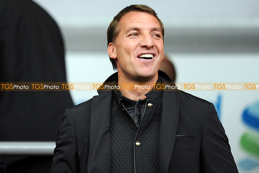 Liverpool 1st team manager Brendan Rogers - Liverpool Under-21 vs Manchester United Under-21 - Barclays Under-21 Premier League Football at Anfield, Liverpool - 02/05/14 - MANDATORY CREDIT: Greig Bertram/TGSPHOTO - Self billing applies where appropriate - 0845 094 6026 - contact@tgsphoto.co.uk - NO UNPAID USE