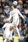 Real Madrid's Raphael Varane during La Liga match. April 29,2015. (ALTERPHOTOS/Acero)