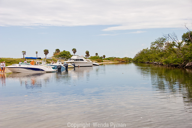 Whiskey Creek is a sanctuary for the manatee, as well as a scenic recreational waterway.
