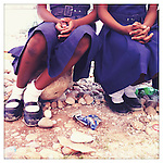 School girls at the National Girls School, sponsored by 10x10 partner, Plan, in Jacmel, Haiti.