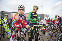 Kevin Pauwels (BEL) before the start<br /> <br /> Leuven Soudal Classic 2014
