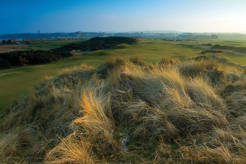 St Andrews from Jubilee Links Golf Course, St Andrews, Fife