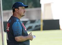 Napoli Calcio ritiro precampionato a Dimaro ( TN)  18 Luglio 2014<br /> nella foto   Rafael Benitez