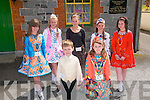 Lixnaw Feile Cheoil: Young dancers in stylish dress pictured at the Lixnaw Feile Cheoil held at the Ceolinn Centre on Saturday last. Front ; Sean Kissane & Kaylin Foley. Back: Saoirse Kennedy, Emily McCarthy, Edel Quinn, Claire O'Connell & Hannah Roche.