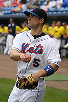 March 21, 2010:  Third Baseman David Wright (5) of the New York Mets during a Spring Training game at Tradition Field in St. Lucie, FL.  Photo By Mike Janes/Four Seam Images