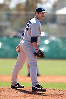 February 28, 2010:  Pitcher Mike Pierce of the Penn State Nittany Lions during the Big East/Big 10 Challenge at Raymond Naimoli Complex in St. Petersburg, FL.  Photo By Mike Janes/Four Seam Images