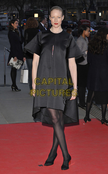 LONDON, ENGLAND - APRIL 02: Jade Parfitt attends the &quot;The Glamour of Italian Fashion 1945-2014&quot; private view, V&amp;a Museum, Cromwell Rd., on Wednesday April 02, 2014 in London, England, UK.<br /> CAP/CAN<br /> &copy;Can Nguyen/Capital Pictures