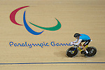 RIO DE JANEIRO - 6/9/2016:  Tristen Chernove during track cycling training at the Paralympic Village at the Rio 2016 Paralympic Games. (Photo by Matthew Murnaghan/Canadian Paralympic Committee