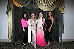 LOS ANGELES - MAY 27: Lindsay Hartley, Donna Mills, Crystal Hunt, Chrystee Pharris at the Marilyn Monroe Missing Moments preview at the Hollywood Museum on May 27, 2015 in Los Angeles, California