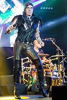 SAO PAULO, SP, 21.08.2015 - SHOW-SP - Cantor Ney Matogrosso durante show no Tom Brasil na zona sul da cidade de São Paulo nesta sexta-feira, 21. (Foto: Vanessa Carvalho/ Brazil Photo Press)