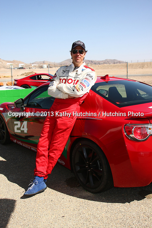 LOS ANGELES - MAR 23:  Michael Trucco at the 37th Annual Toyota Pro/Celebrity Race training at the Willow Springs International Speedway on March 23, 2013 in Rosamond, CA          EXCLUSIVE PHOTO