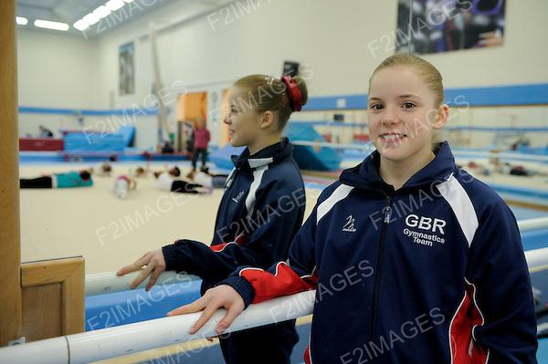 Media Day at Lilleshall British Gymnastics 11.4.13 . Photos by Alan Edwards