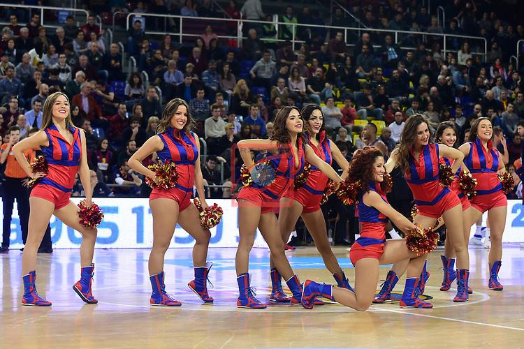 League ACB-ENDESA 2016/2017 - Game: 13.<br /> FC Barcelona Lassa vs Divina seguros Joventut: 79-77.<br /> Dream Cheers.