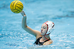 INDIANAPOLIS, IN - MAY 14: Jordan Raney (7) of Stanford University in action during the Division I Women's Water Polo Championship against UCLA held at the IU Natatorium-IUPUI Campus on May 14, 2017 in Indianapolis, Indiana. (Photo by Joe Robbins/NCAA Photos/NCAA Photos via Getty Images)