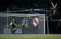 Washington, DC - September 21, 2014: Georgetown defeated Duquesne 2-0 during a women's soccer match at Shaw Field.