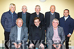 Fr Bernard Healy enjoying his farewell party at the St Johns Parish Centre on Friday night. <br /> Seated L to r: Fr Tadgh Fitzgerald, Fr Bernard Healy and Fr Sean Hannafin.<br /> Back l-r, Fr Niall Gainey, Fr Dan Ahern, Fr Ned Barrett, Canon Linnane and Fr Sean Jones.