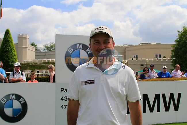 Damien McGrane on the 1st tee before starting Round 2 of the BMW PGA Championship at  Wentworth, Surrey, England...Photo Golffile/Eoin Clarke.(Photo credit should read Eoin Clarke www.golffile.ie)....This Picture has been sent you under the condtions enclosed by:.Newsfile Ltd..The Studio,.Millmount Abbey,.Drogheda,.Co Meath..Ireland..Tel: +353(0)41-9871240.Fax: +353(0)41-9871260.GSM: +353(0)86-2500958.email: pictures@newsfile.ie.www.newsfile.ie.