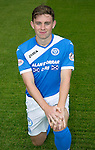 St Johnstone FC photocall Season 2016-17<br />Craig Thomson<br />Picture by Graeme Hart.<br />Copyright Perthshire Picture Agency<br />Tel: 01738 623350  Mobile: 07990 594431