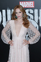 NEW YORK, NY - NOVEMBER 06: Jaime Ray Newman at  'Marvel's The Punisher' New York premiere at AMC Loews 34th Street 14 theater on November 6, 2017 in New York City. Credit: Diego Corredor/MediaPunch /NortePhoto.com