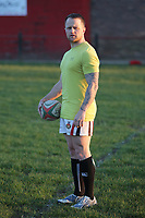 FAO STEWART HUNTER, DAILY MAIL SPORTS PICTURE DESK<br />Pictured: Dean Williams, the brother of Shane Williams, after training at Amman United RFC in Cwmamman, Wales, UK. Thursday 13 April 2017<br />Re: Former Wales international rugby player Shane Williams is to make another comeback as part of the Amman United team that contests a final at the Principality Stadium in Cardiff on Saturday.<br />40 year old Williams, Wales' record try scorer has been named in his local village side that will take on Caerphilly in the National Bowl final, having recovered from a fractured jaw in the semi-final win against Cardigan after almost five years since Williams last played for the Barbarians against Wales.<br />He retired from the Test scene after a defeat to Australia in 2011, immediately after Wales had reached the semi-final of the World Cup of that year.
