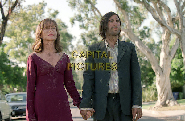 ISABELLE HUPPERT & JASON SCHWARTZMAN.in I Heart Huckabees.*Editorial Use Only*.www.capitalpictures.com.sales@capitalpictures.com.Supplied by Capital Pictures.