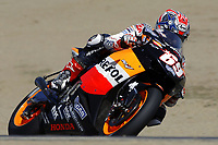 Nicky Hayden (USA),<br /> United States Motorcycle Grand Prix,<br /> Motorsport - MotoGP,<br /> Laguna Seca circuit,<br /> California, United States,<br /> 10th July 2005<br /> &copy; Sport the library/ Presse Sports